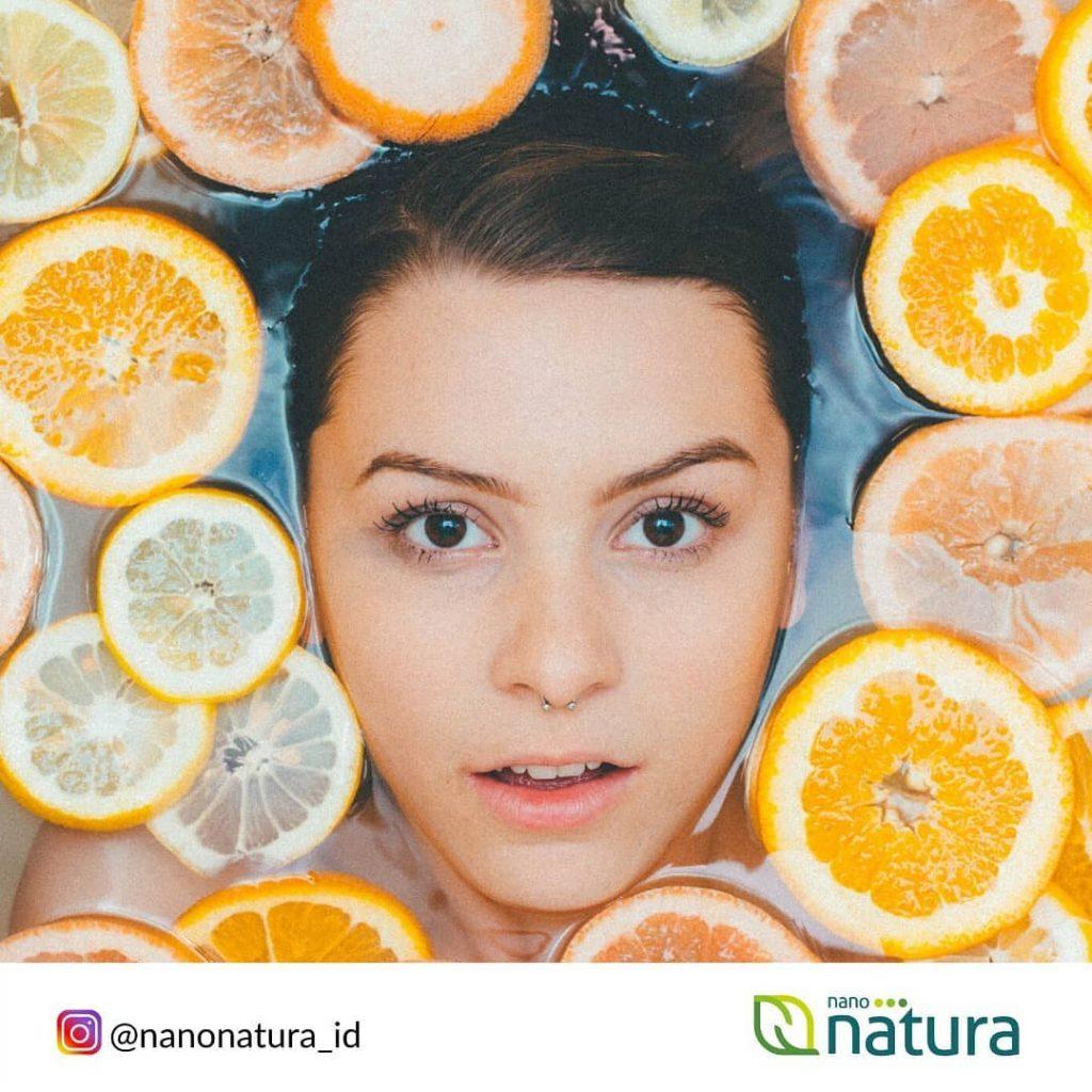 buah jeruk untuk produk kecantikan