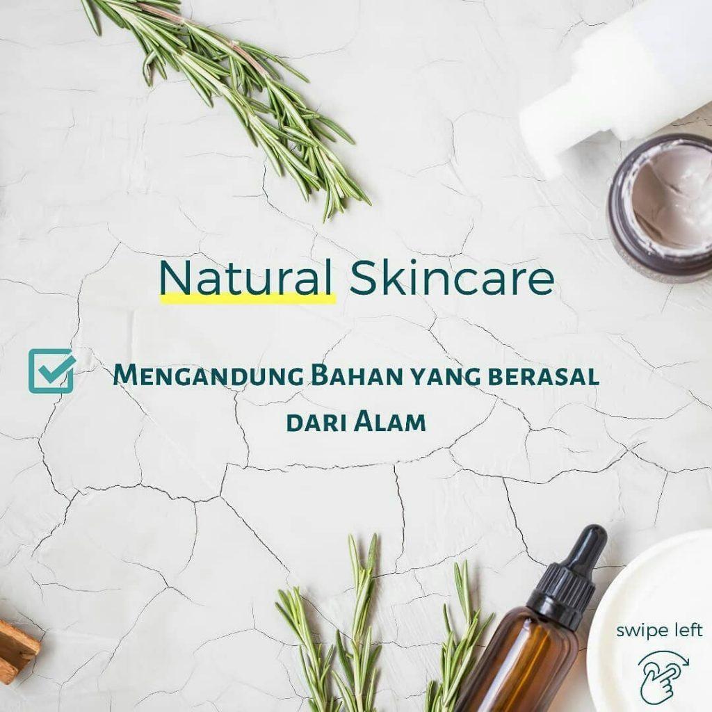 natural skincare bahan dari alam