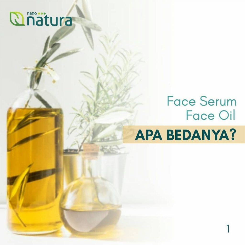 face serum vs face oil