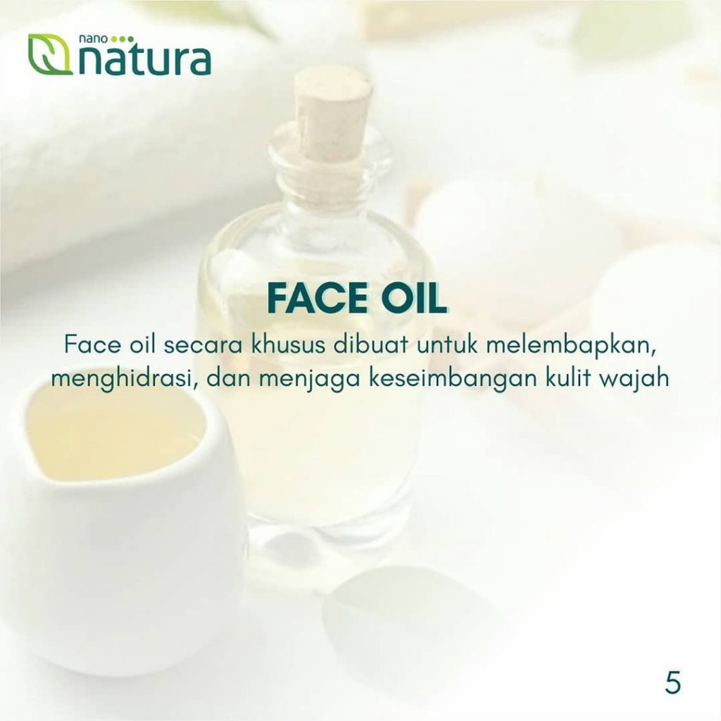 serum face oil