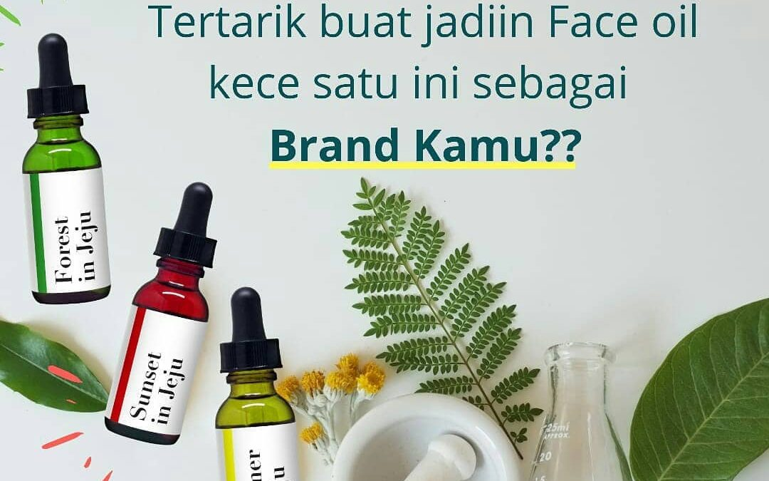 Maklon Kosmetik herbal face oil