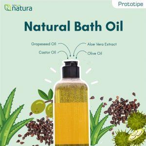 natural bath oil