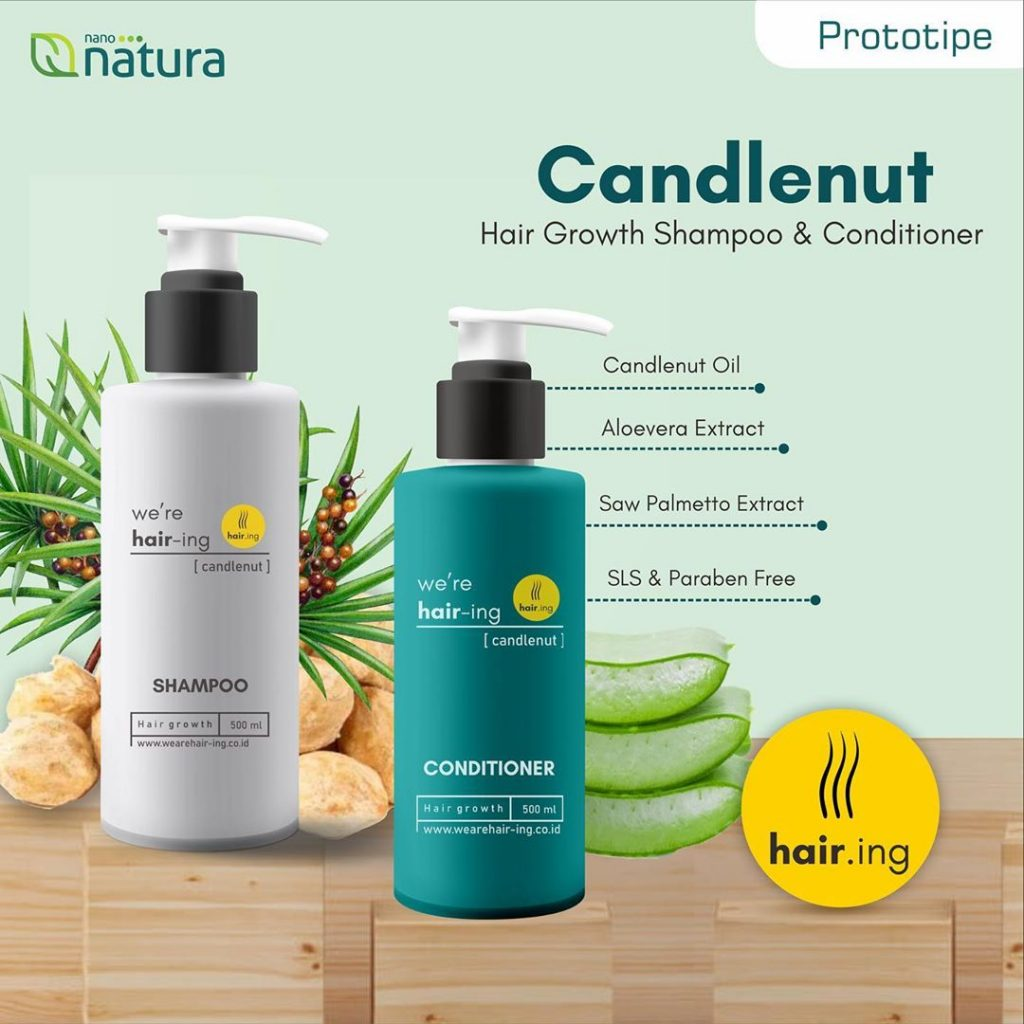 hair graowth shampoo dan conditioner