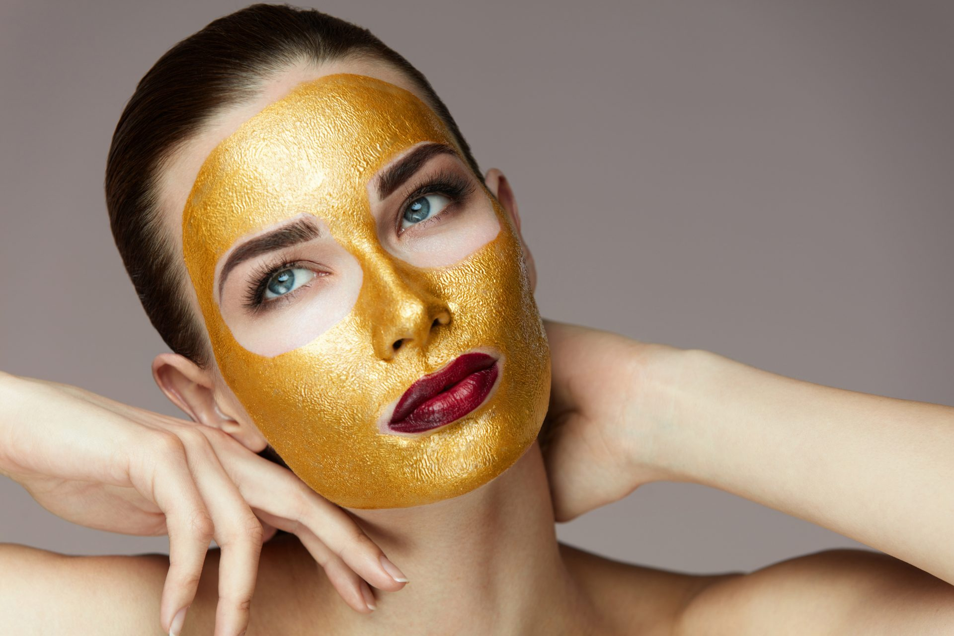 masker emas