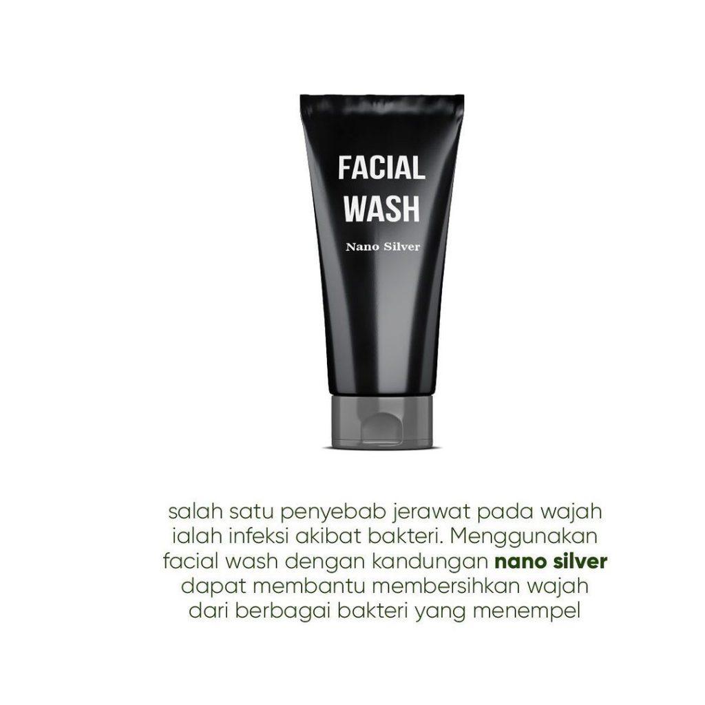 Facial wash dengan nano silver