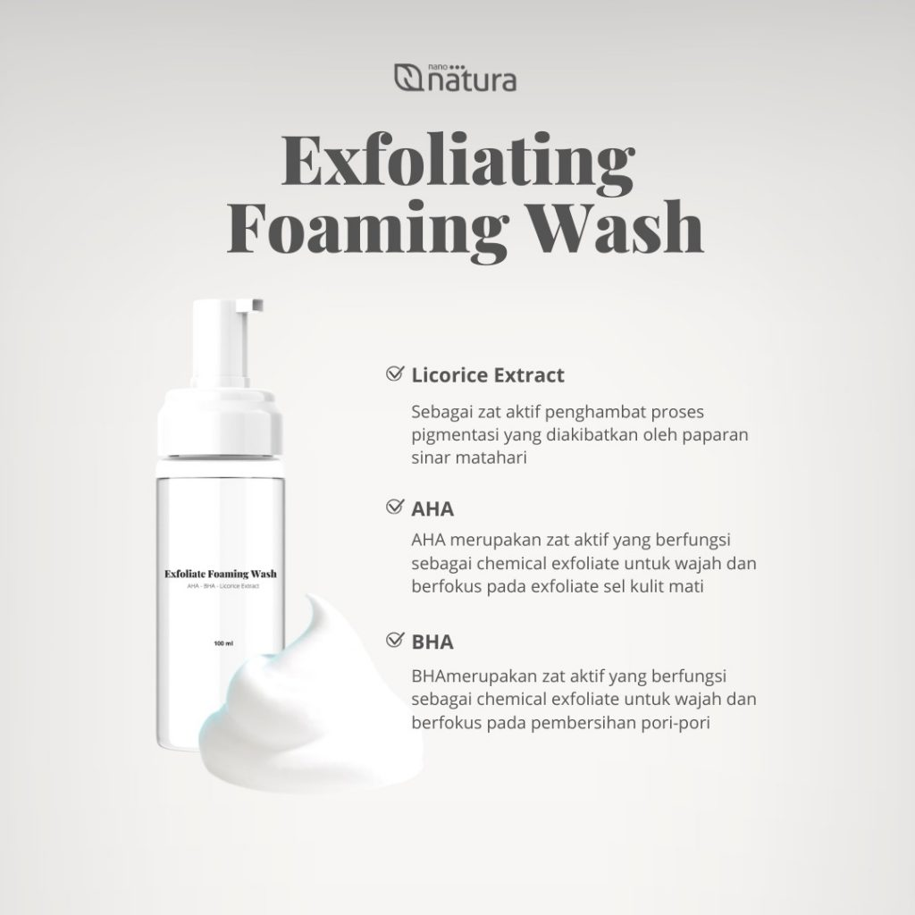 foaming wash